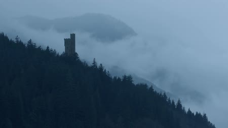 гот : Castle In Misty Mountains