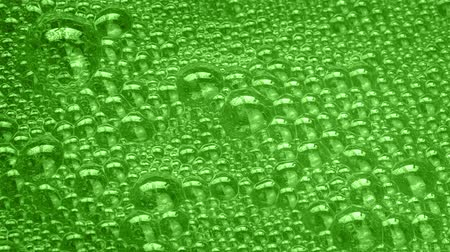 fizzing : Green Substance Bubbling And Frothing
