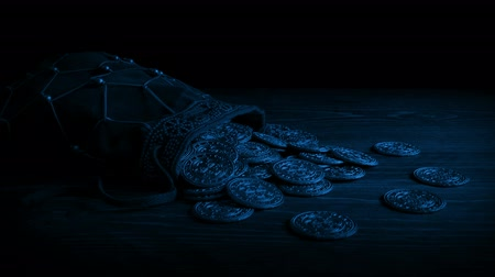 highwayman : Passing Bag Of Gold Coins In The Dark