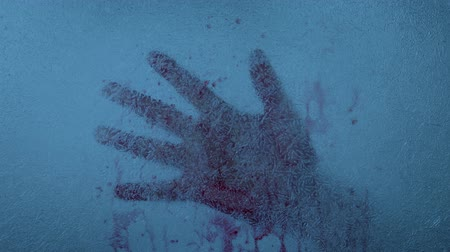 csi : Bloody Hand Frozen In The Ice