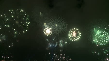 Spectacular and colorful fireworks show. Full HD, 1080p, 30fps.