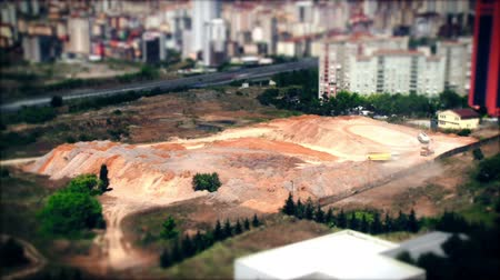 Timelapse Construction Site. Full HD, 1080p, 30fps.
