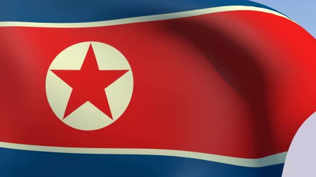 north korean flag : Flag of North Korea