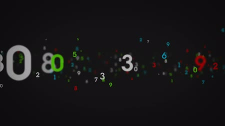 programmers : Streams of random, single digit numbers. This is 1 clip in a set of 3. All clips are available in 4 different color options. All clips loop seamlessly. Stock Footage