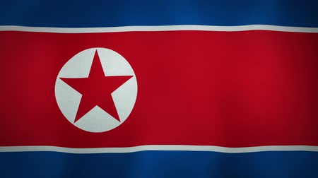 coreano : Flag North Korea