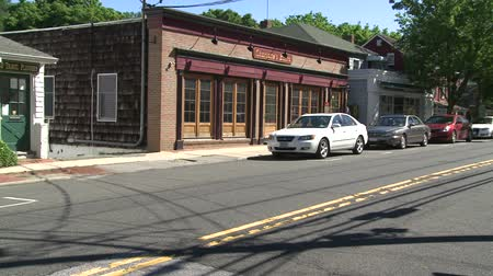 crosswalk : Scenes from Cold Spring Harbor, New York