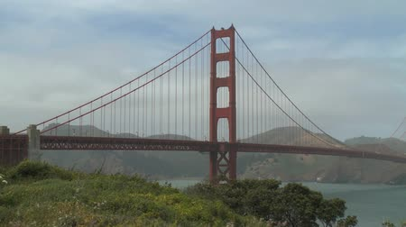 gates : Scenes from San Francisco, California Stock Footage
