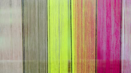závit : Raw silk thread background