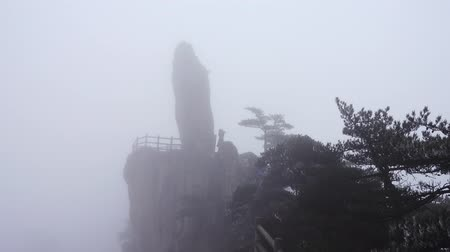 pinus : The famous Huangshan landscape, one of the tourist destinations.