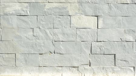 zeď : gray blocks of solid stone wall