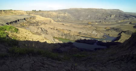 factor : anthropogenic interference with coal mine  time laps