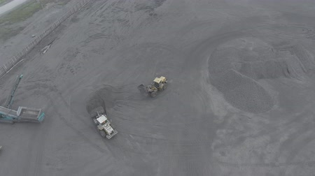 Open pit mine, breed sorting, mining coal, extractive industry