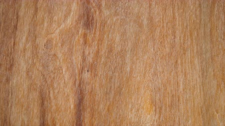 Macro video of a grunge wooden texture in which you can see the color, the wood grain