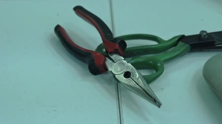 alicate : tools for material processing shears and pliers