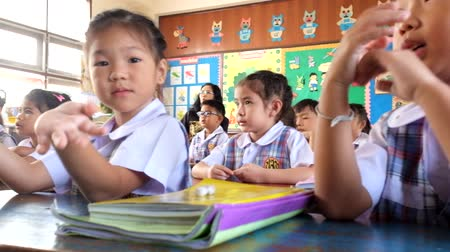 preschool : kindergarten Children are learning Thailand