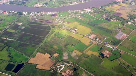 havai : Aerial view over land in Bangkok, Thailand