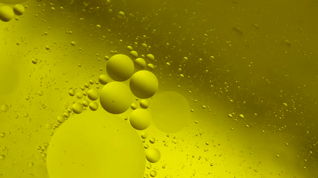 oil drop : Background of oil drop in the water. Stock Footage