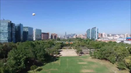 apartment : Drone aerial footage at a park in Chile