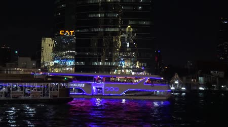 sailing boat : River cruise at Chao Phraya river in Bangkok, Thailand