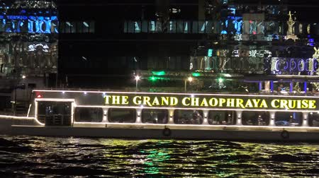 River cruise at Chao Phraya river in Bangkok, Thailand