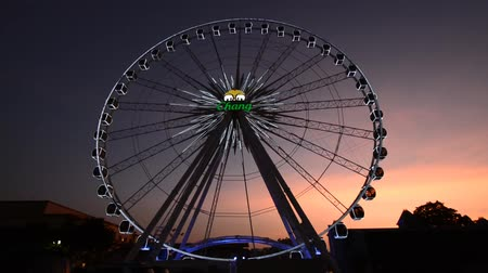 Ferris wheel at a park in Bangkok, Thailand