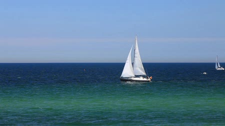 baltık : Sailboats on the baltic sea on the german coast by Kuehlungsborn