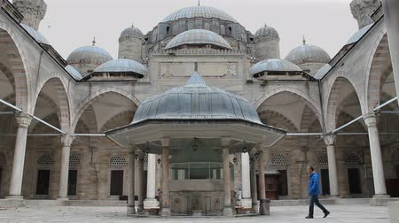 orientale : Sehzade Mosque 16th century, Old Ottoman Turkish architecture. Architect Sinan (?Architect Sinan Sin) or Architect Koca Sinan (? Great Architect Sinan Sin) Fatih District, Istanbul Turkey