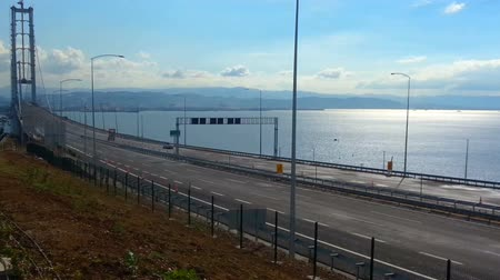 senhor : Osmangazi Bridge, Izmit Bay, Turkey Vídeos