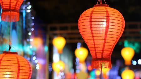 ano novo chinês : Asian lanterns in lantern festival