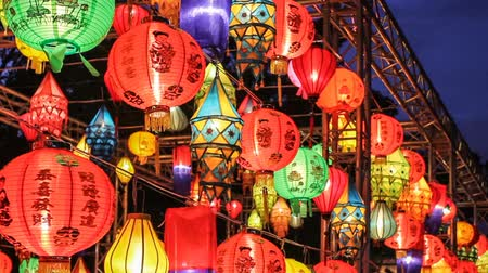 chinese culture : Asian lanterns in the international lantern festival