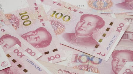 renminbi : Chinese 100 RMB ,Yuan banknotes from Chinas currency.