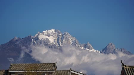 geleira : Jade Dragon (Yulong)Snow Mountain, Lijiang,Yunnan China.