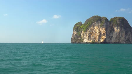 aonang : Natural color of andaman sea ,Krabi Thailand.