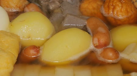 Japanese fish cake stew-Oden