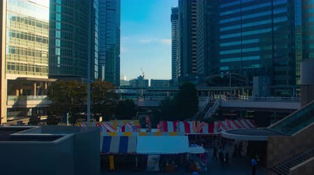 acele : Time lapse at the street in Shinagawa Stok Video