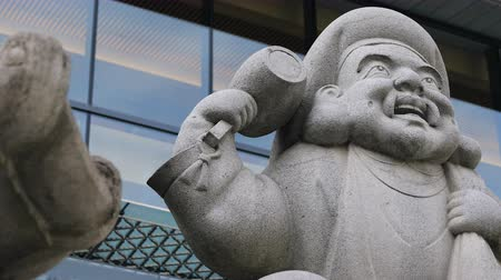 servet : Statue guardian angle at Kanda shrine in Tokyo