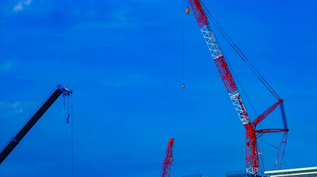 rakomány : A timelapse of cranes at the under construction in Tokyo