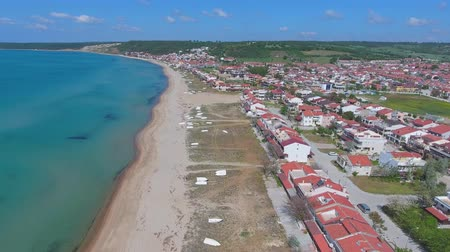 drone shot : Beach drone shot Stock Footage