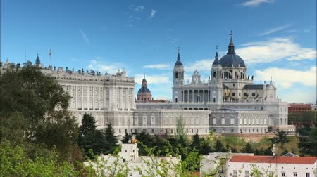 palacio real : Madrid - Spain, Time lapse