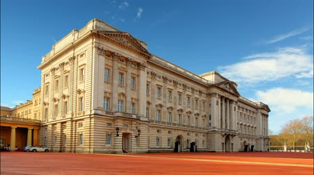 pictured : LONDON - JAN 10 : Buckingham palace pictured on January 10th, 2014, in London, UK. Built in 1705, the Palace is the official London residence and principal workplace of the British monarch.