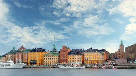 estocolmo : Stockholm - Old Town, Time lapse