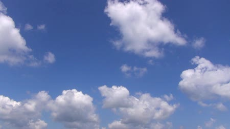 mavi gök : cloud with blue sky time lapse