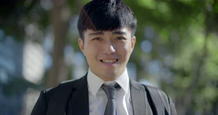young asian handsome business man