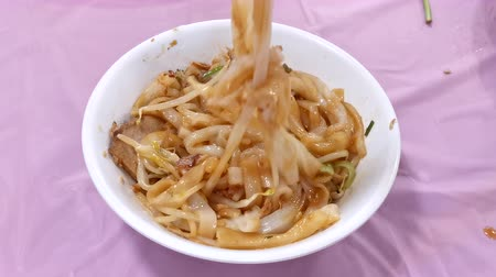 jíst : taiwanese Traditional food Hakka flat noodles