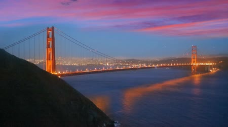 используемый : San Francisco Golden Gate Bridge sunset California USA