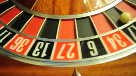 ruleta : rueda de la ruleta Archivo de Video
