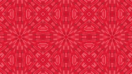 алый : red animated patterns. abstract kaleidoscope. 3d render