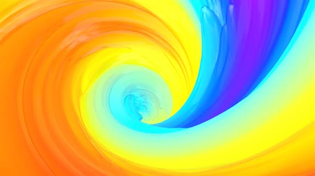helezon : Multicolored abstract animated background. Spiraling. 3d render