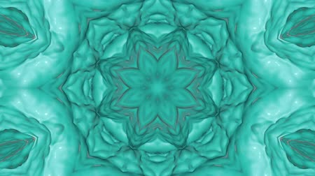 abstrakcja : turquoise abstract wave background. abstraction background. 3d render