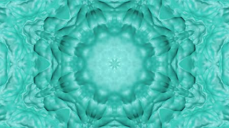 three dimensional : turquoise abstract wave background. abstraction background. 3d render